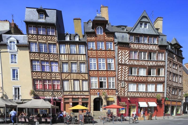 Place du Champs Jacquet in Rennes