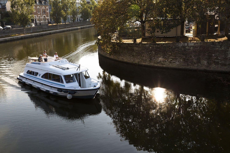 Vilaine river in Rennes