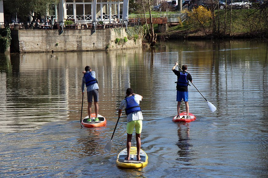 Stand up paddle sur la vilaine