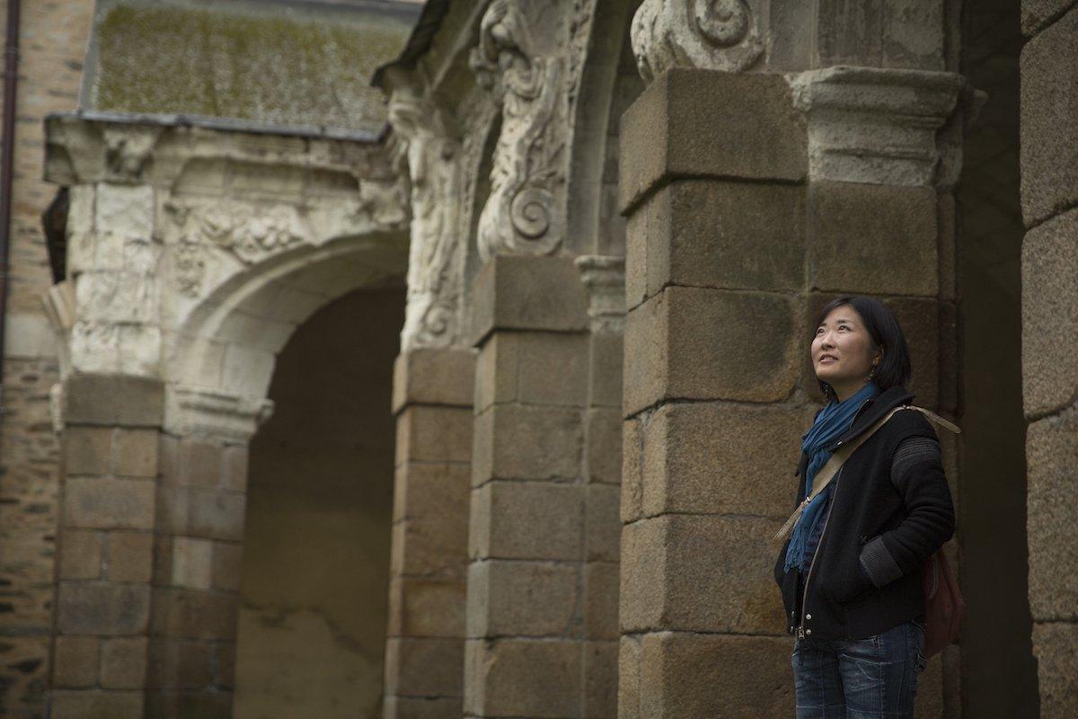 Tomoko Uemura, artiste et greeter à Rennes