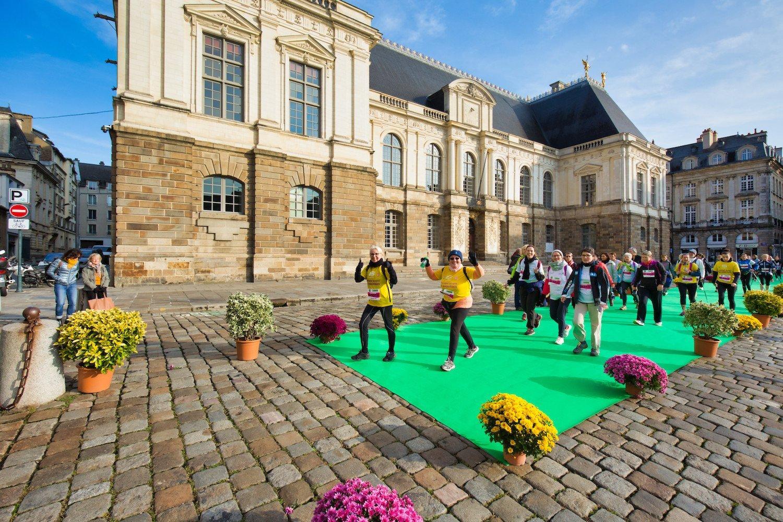 Nordic's walk - Rennes Green Marathon
