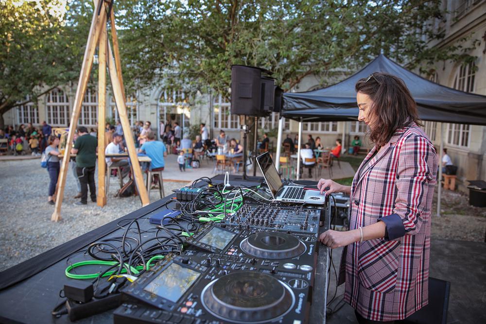 DJ à l'Hôtel Dieu