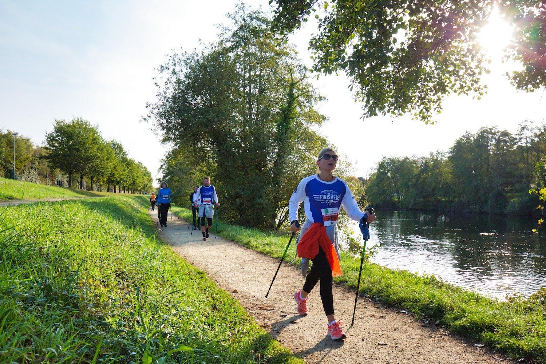 Épreuve de marche nordique - Marathon Vert