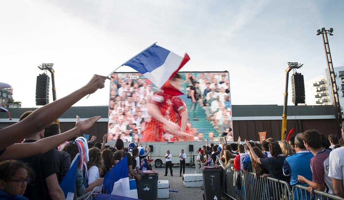 Retransmission de la coupe du monde de football