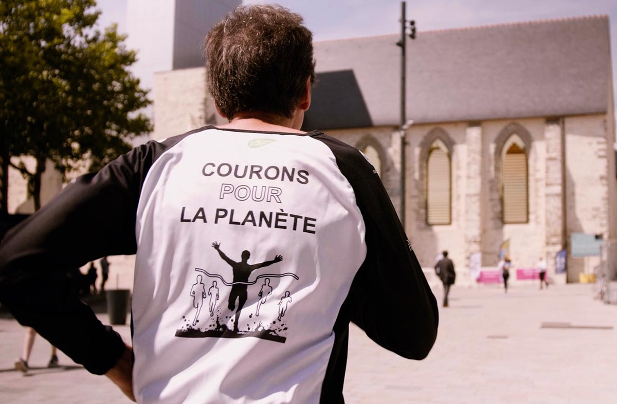 Michel Cabaret est un fidèle du Marathon Vert