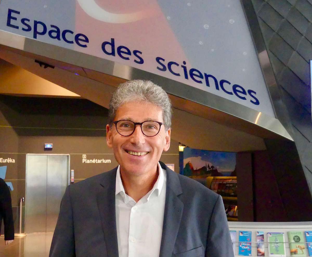 Michel Cabaret dirige l'Espace des sciences de Rennes-Bretagne