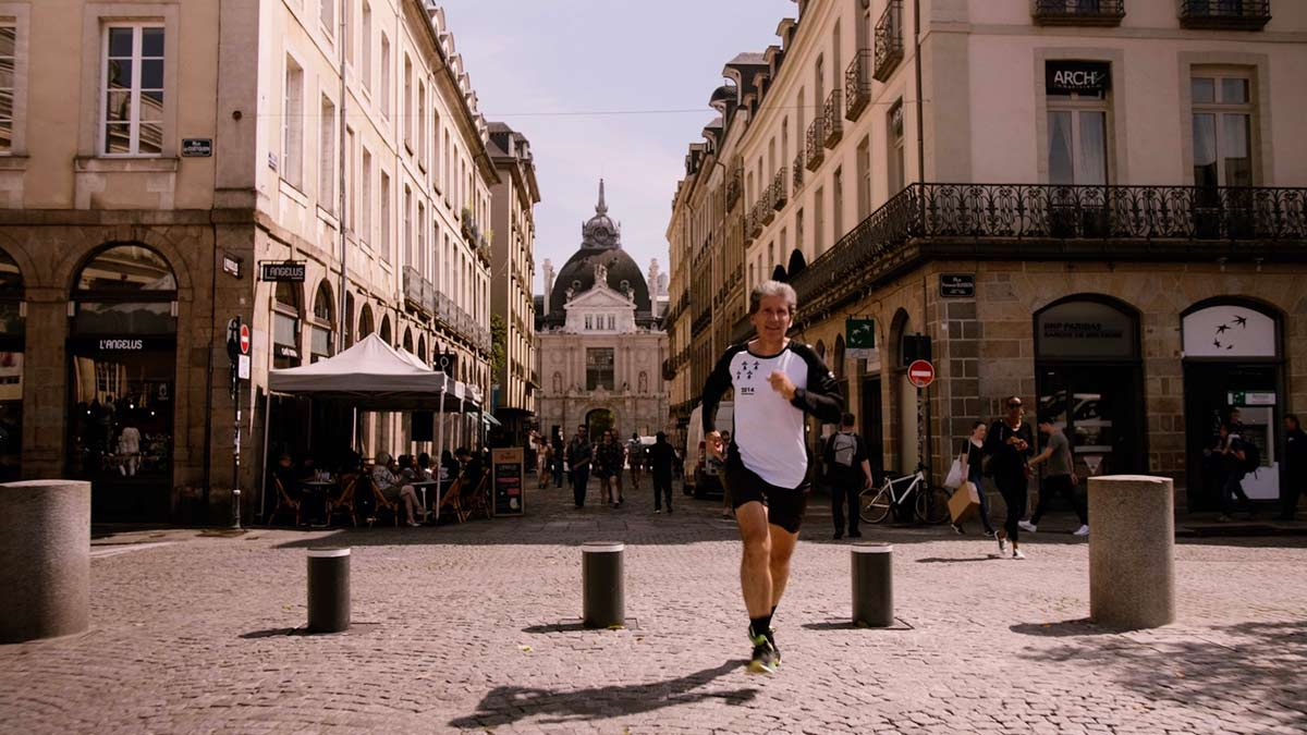 Michel Cabaret, un passionné de running