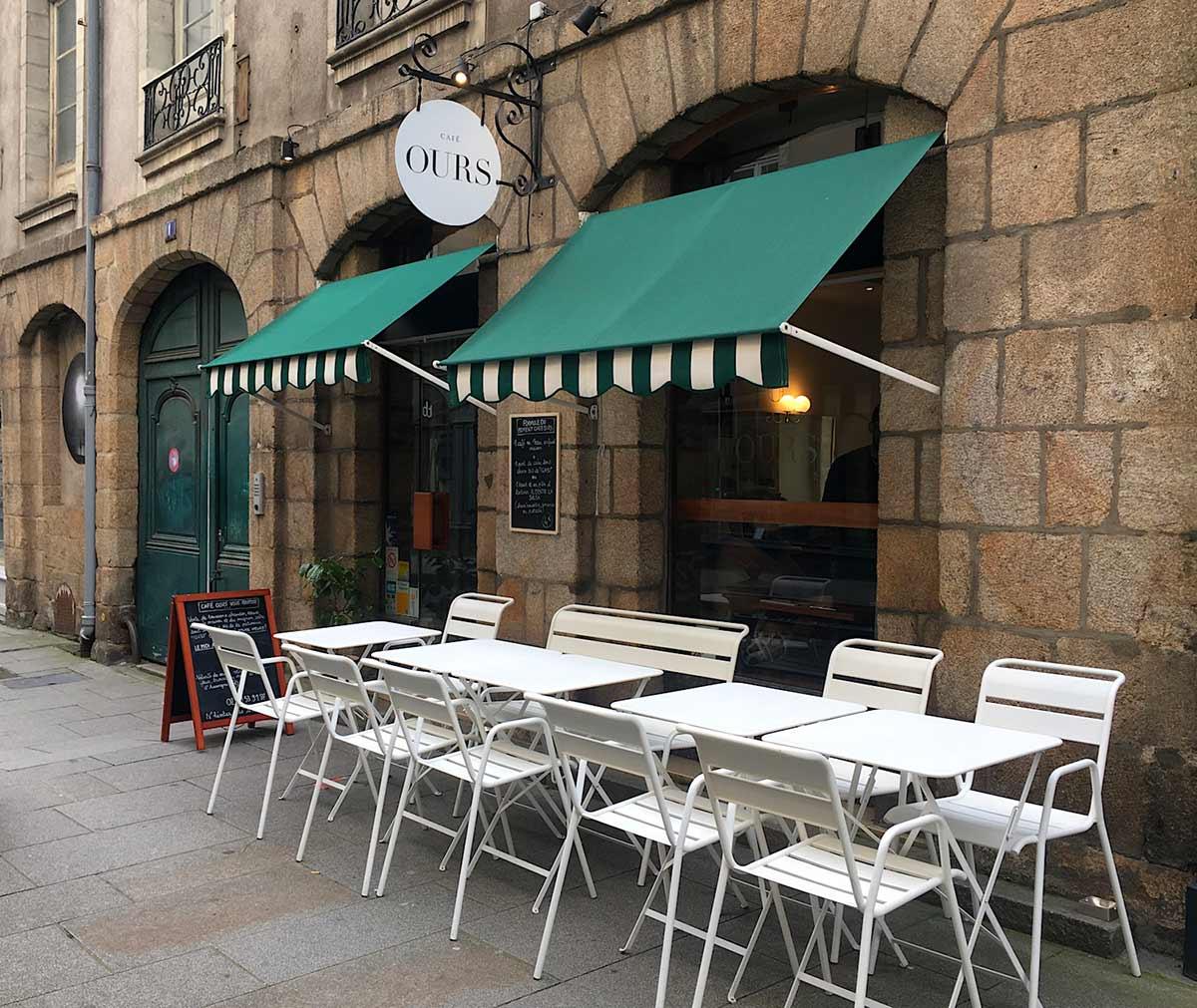 Café Ours à Rennes