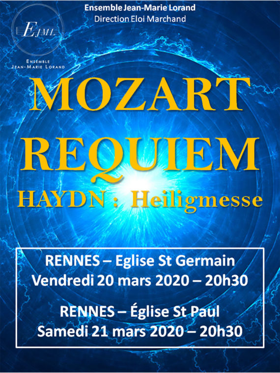 Requiem de Mozart par l'ensemble Jean-Marie Lorand Rennes