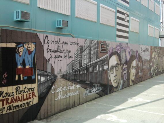 Fresque Marcle Callo - La crèmerie