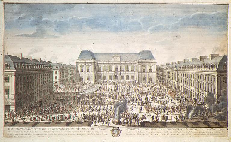 La nouvelle place du parlement