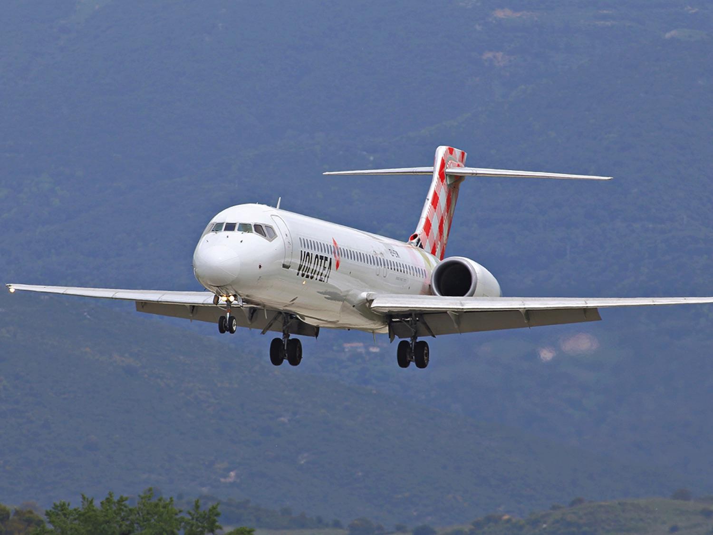 Avion de la compagnie Volotea