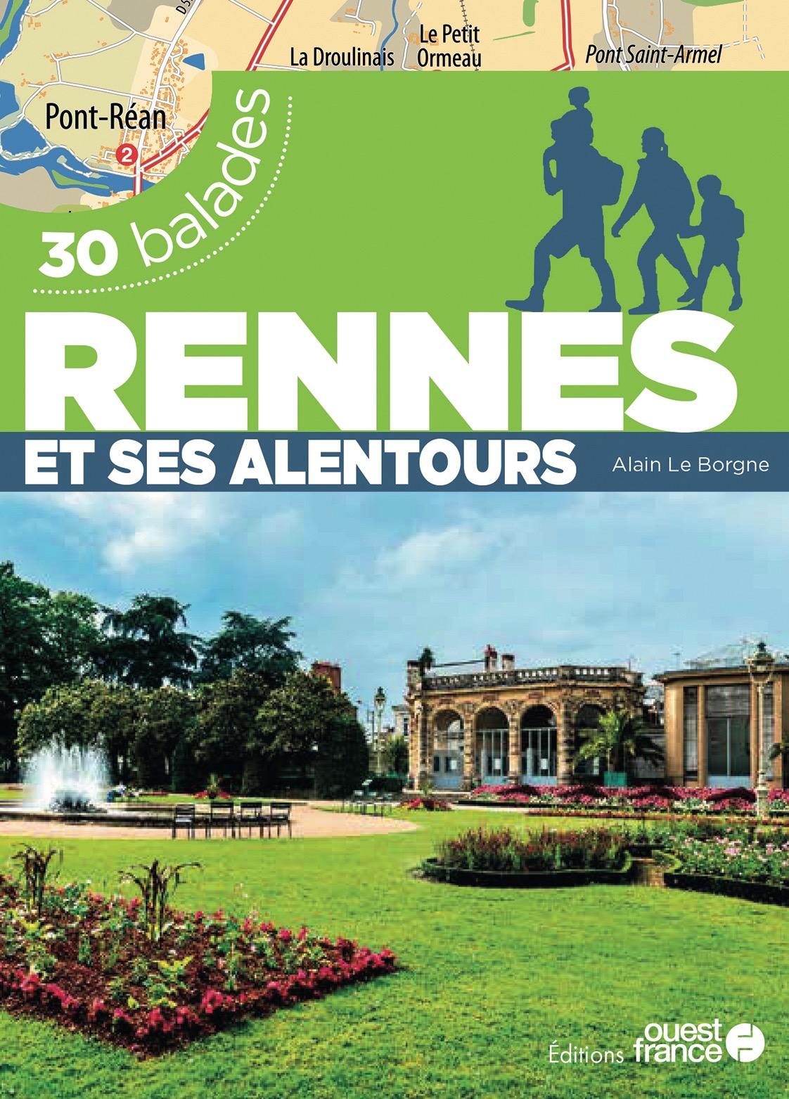 Couverture du guide des balades aux alentours de Rennes