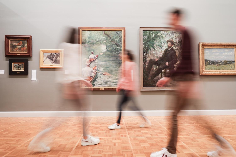 Visite au Musée des beaux-arts de Rennes