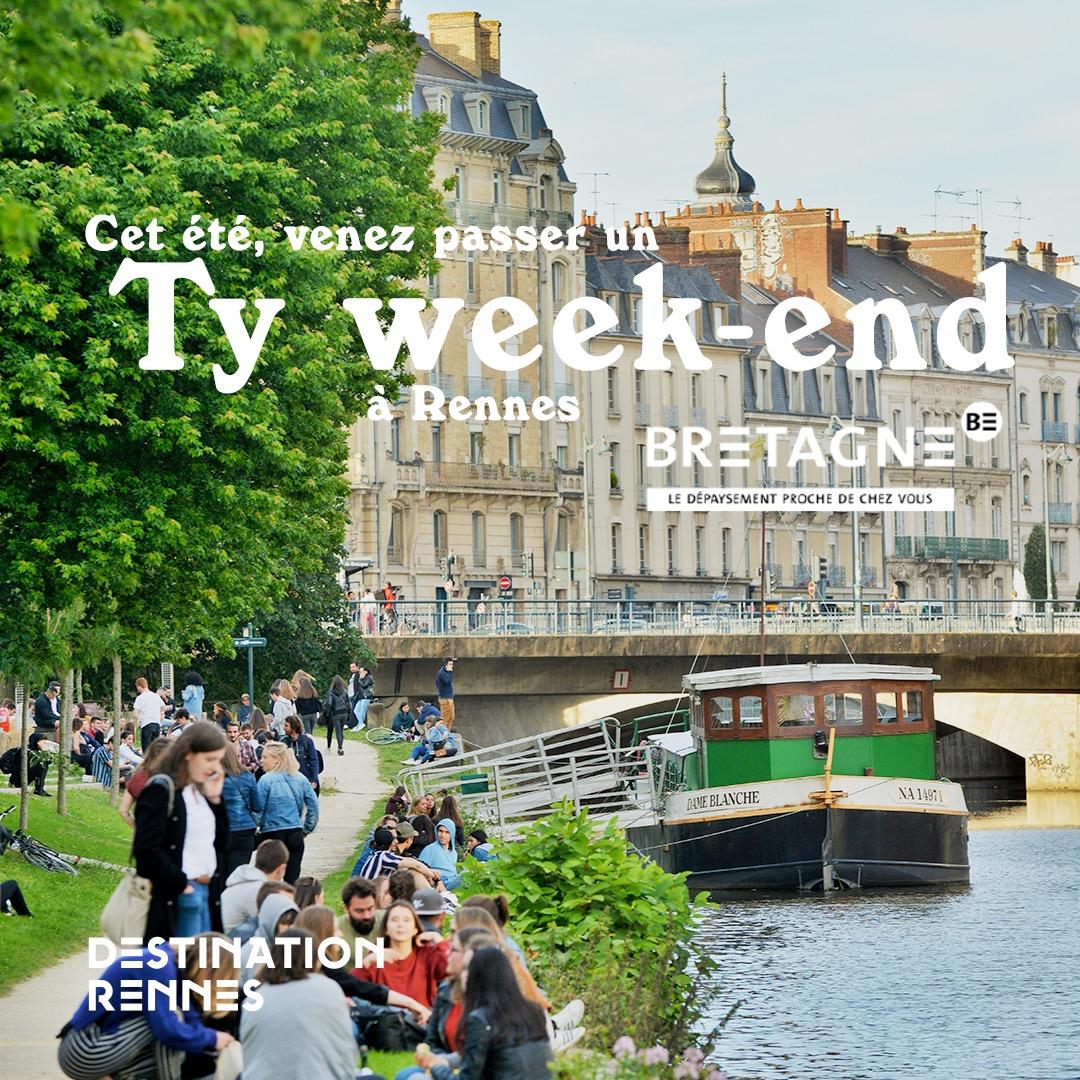 Venez passer un Ty Week-end à Rennes