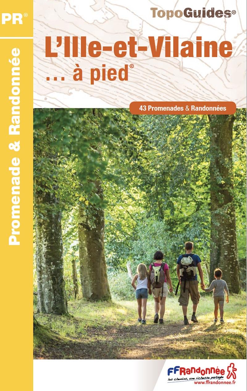 """Guide """" l'Ille-et-Vilaine à pied"""""""