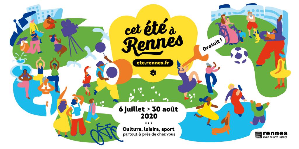 Cet été à Rennes