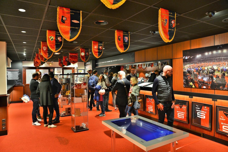 La Galerie des légendes du Stade Rennais