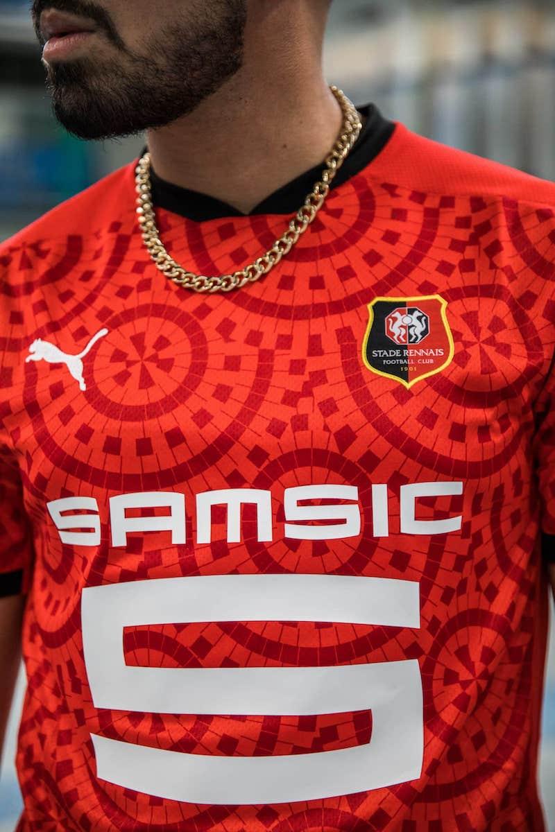 Nouveau maillot du stade Rennais