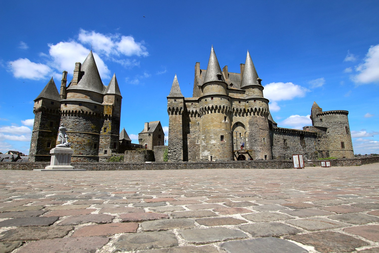 Le château de Vitré en Bretagne