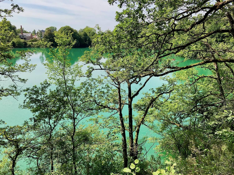 Le mystérieux lagon bleu