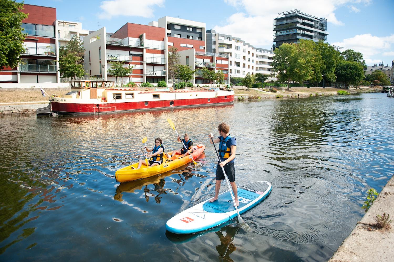 En paddle et en kayak sur la Vilaine