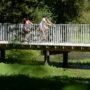 Passerelle piétonne et cycliste aux étangs d'apigné