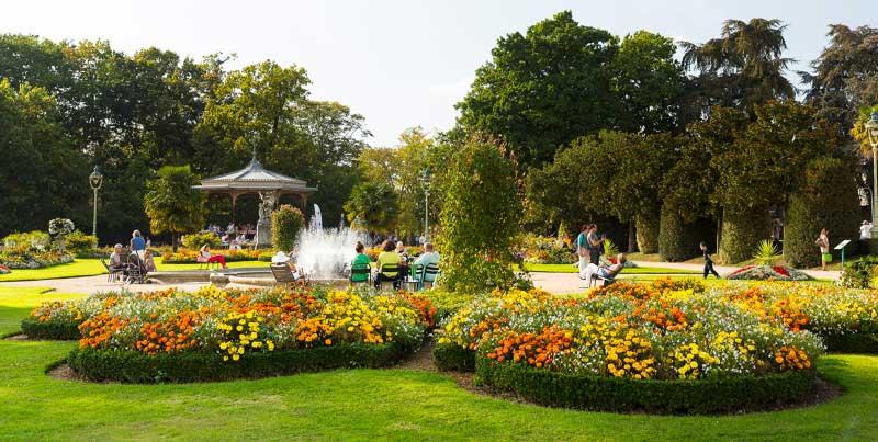 Parc du Thabor à Rennes