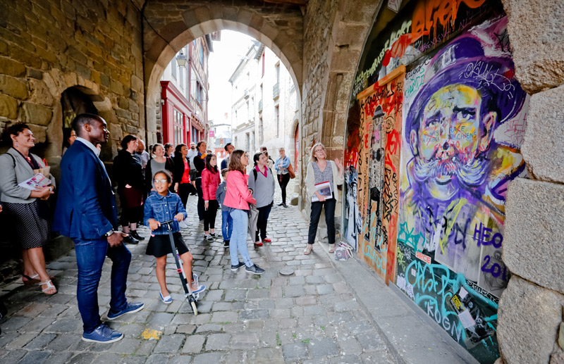 Visite Guidée à Rennes : le street art