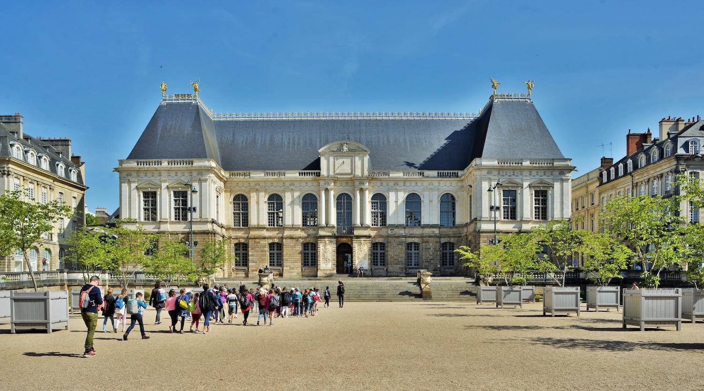 La place du Parlement à Rennes