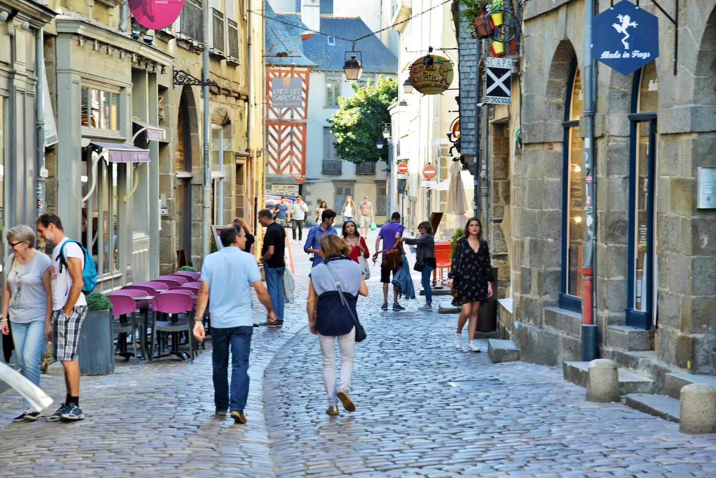 Shopping dans la rue du chapitre