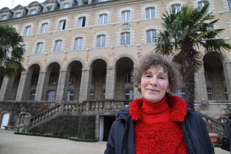 Annick Heuzé, greeter à Rennes