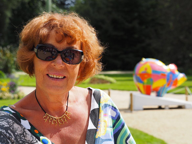 Monique Ruffel, greeter à Rennes