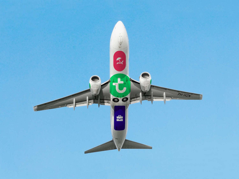 ligne aérienne Transavia