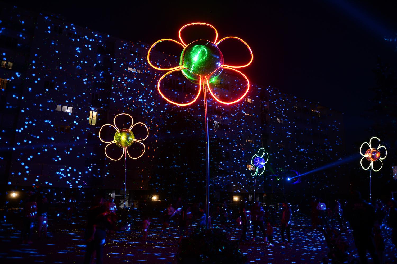 Fleurs de Lumières à Rennes