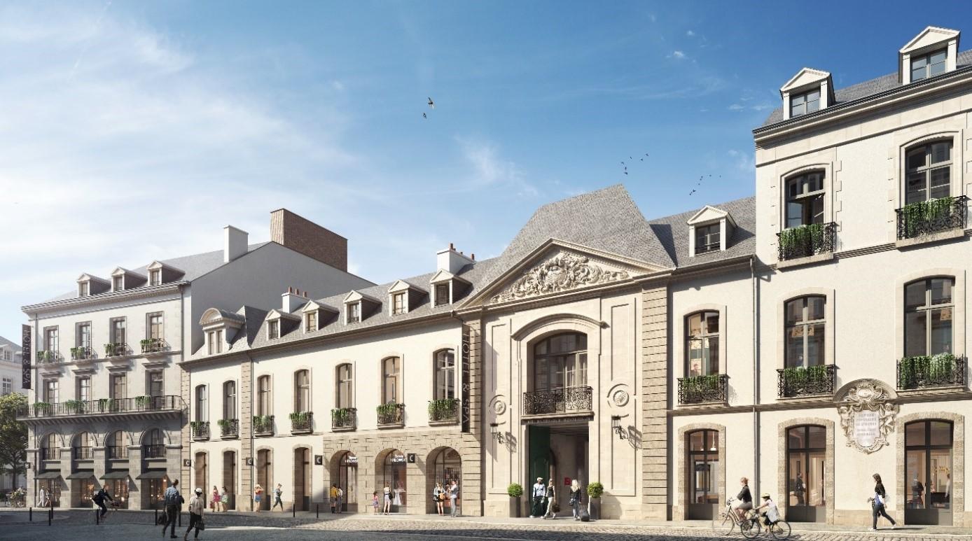 Hôtel le Trinité à Rennes