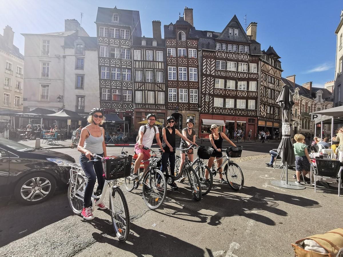 Balade en vélo à Rennes