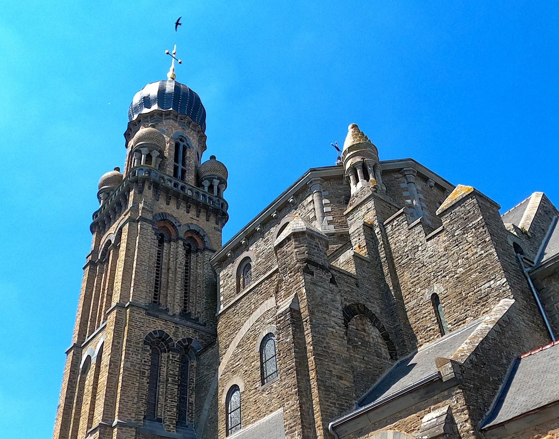 La iglesia Saint-Maximilien Kolbe de Corps-Nuds