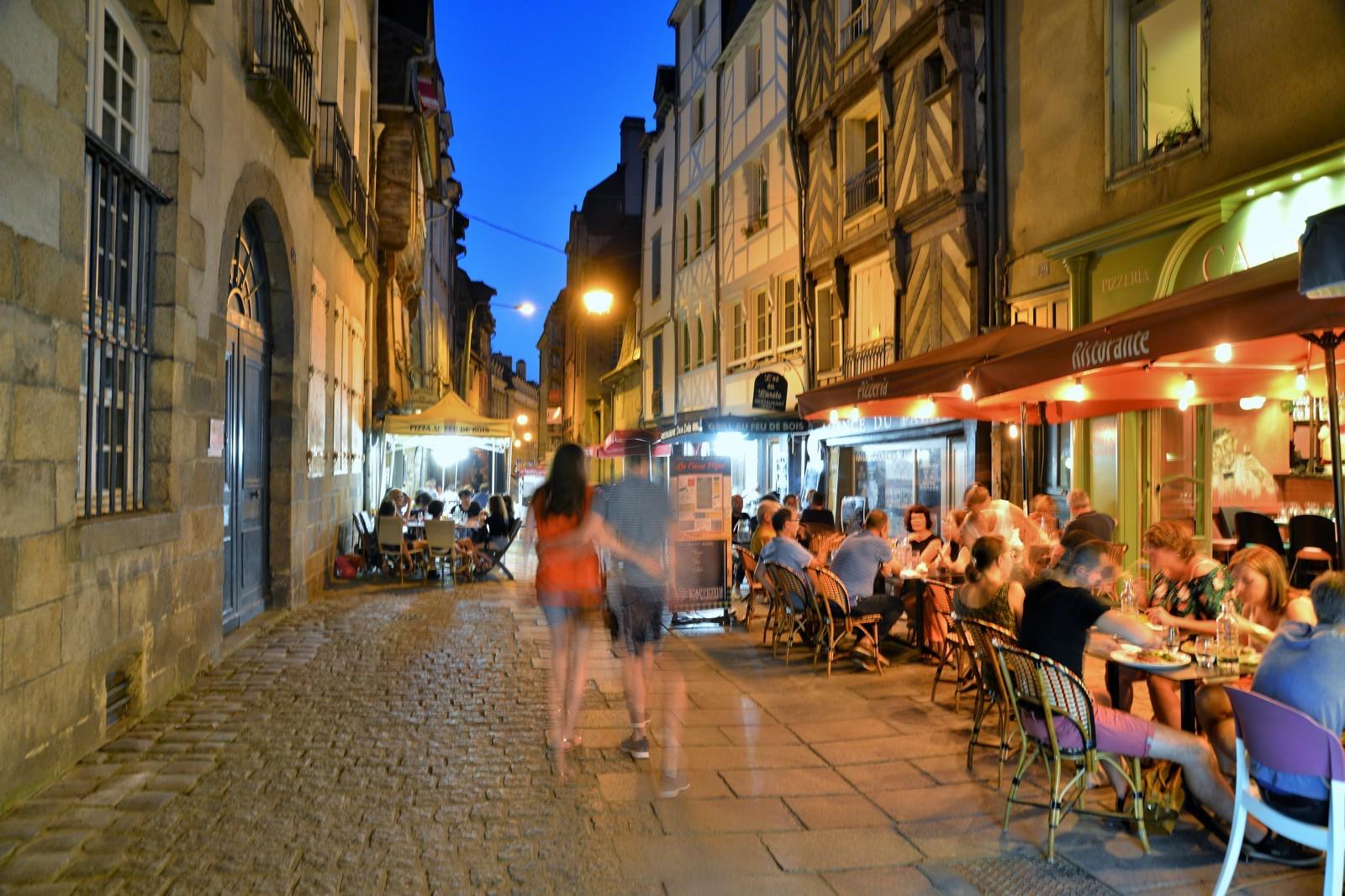 La nuit dans la rue Saint-Georges