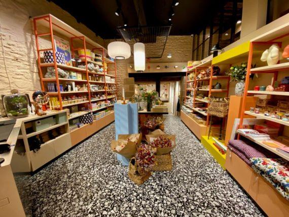 Intérieur de la boutique Officine Clisson