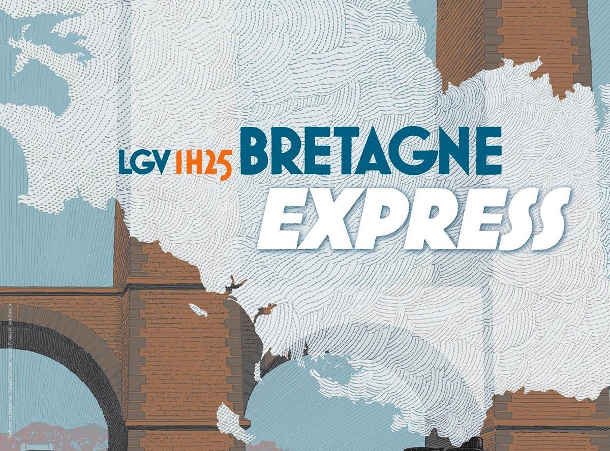 LGV - Rennes à 1h25 de Paris