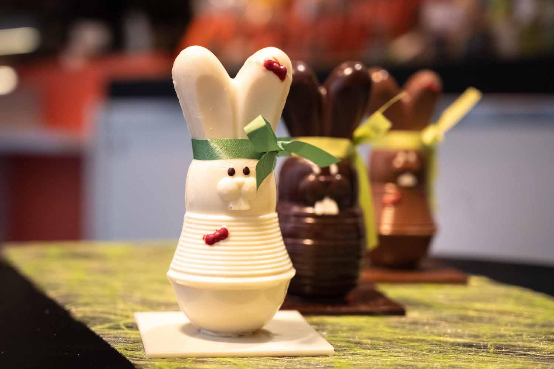 Chocolat de Pâques de chez Coupel à Rennes