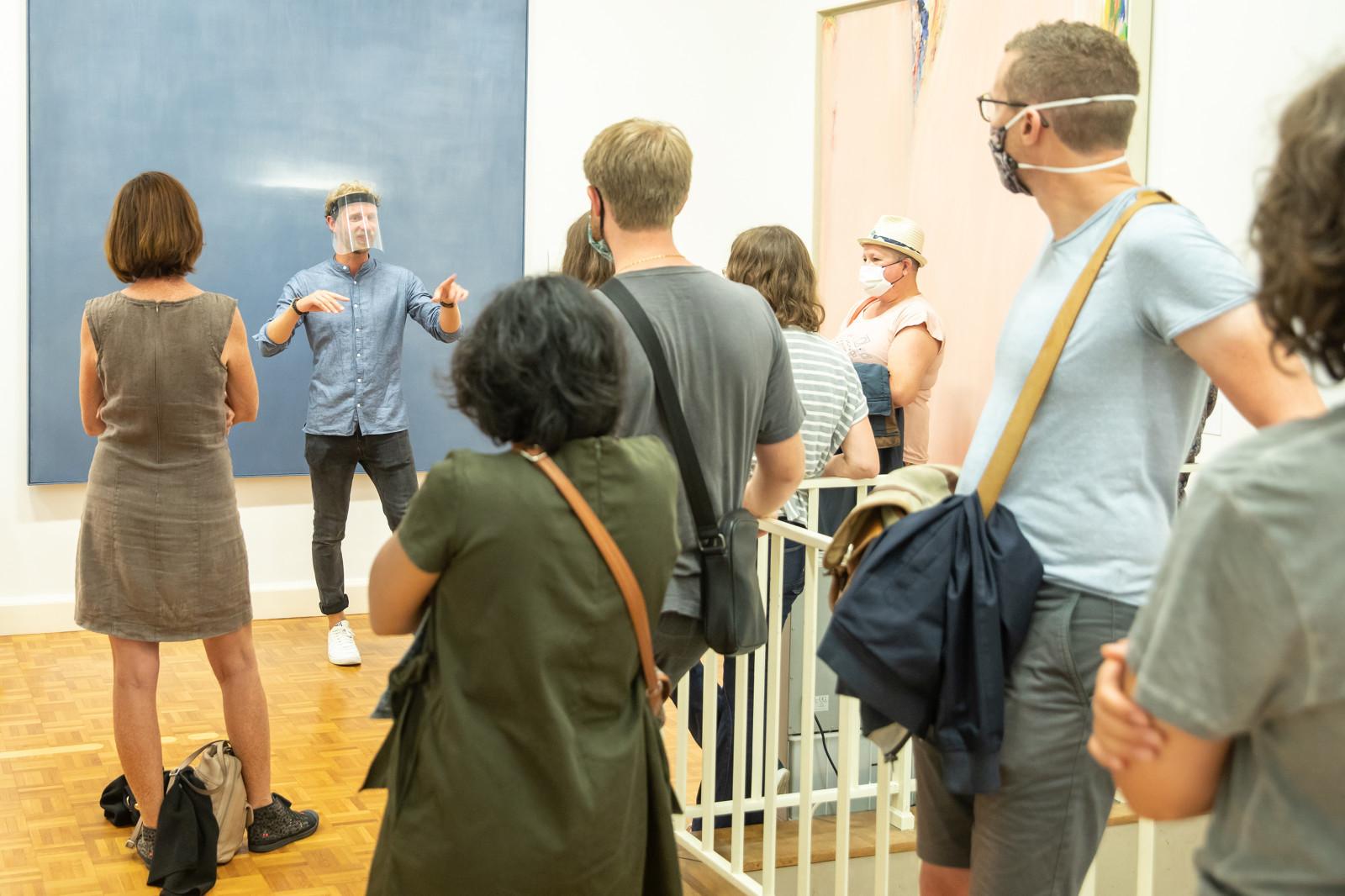Visite du musée des beaux-arts en slam