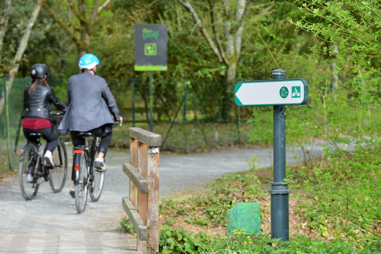 Le Vélotour de Rennes, itinéraire cycliste de 33km