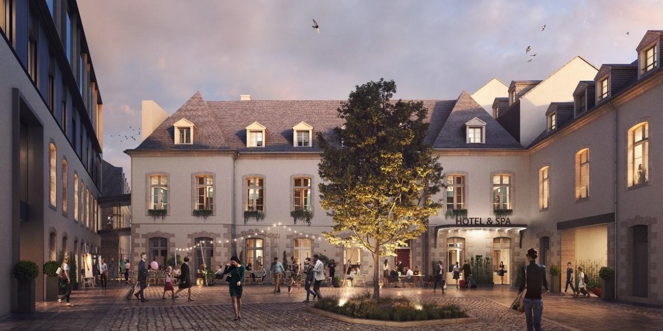 Hôtel place des Lices