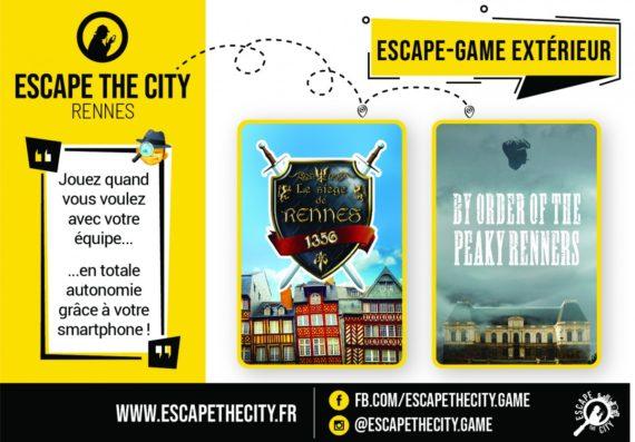 Escape The City, escape game en extérieur