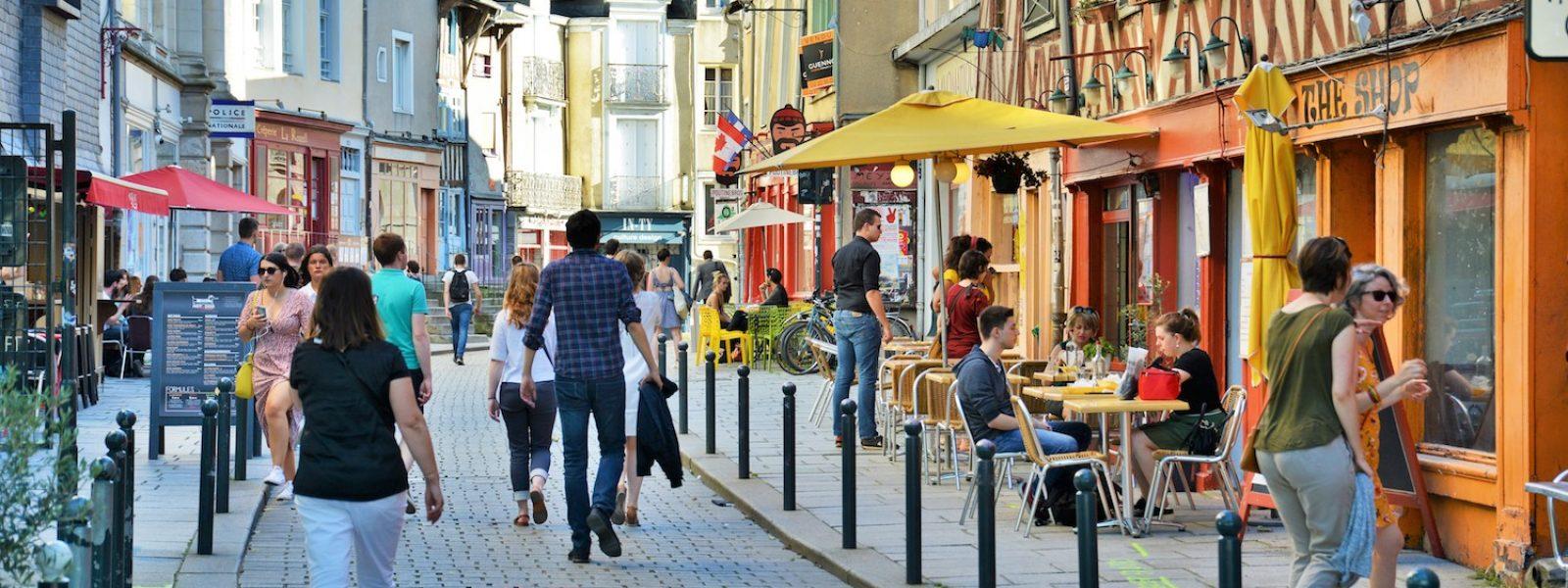 Balade dans les rues de Rennes