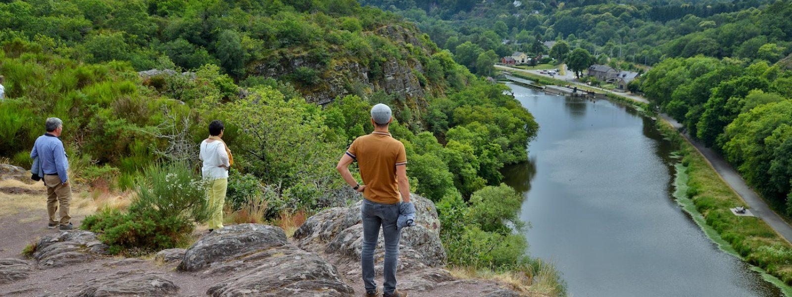 Point de vue sur la Vilaine depuis le Boël