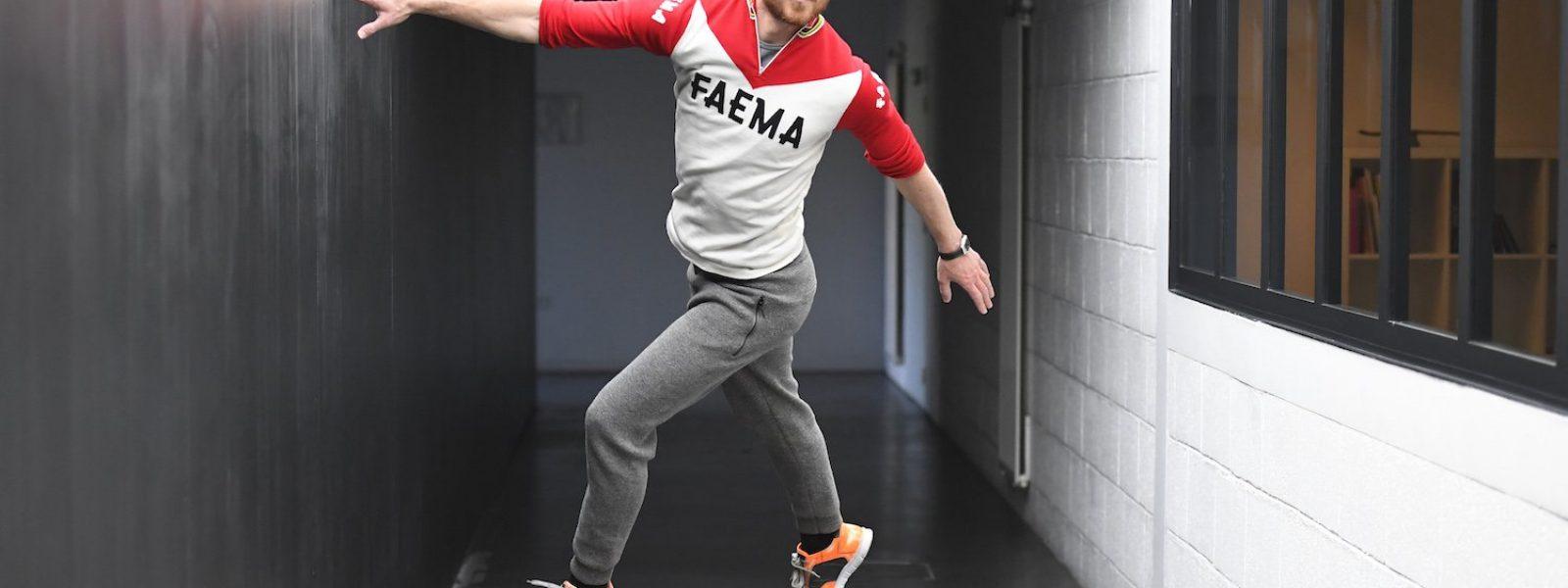le danseur Boris Charmatz