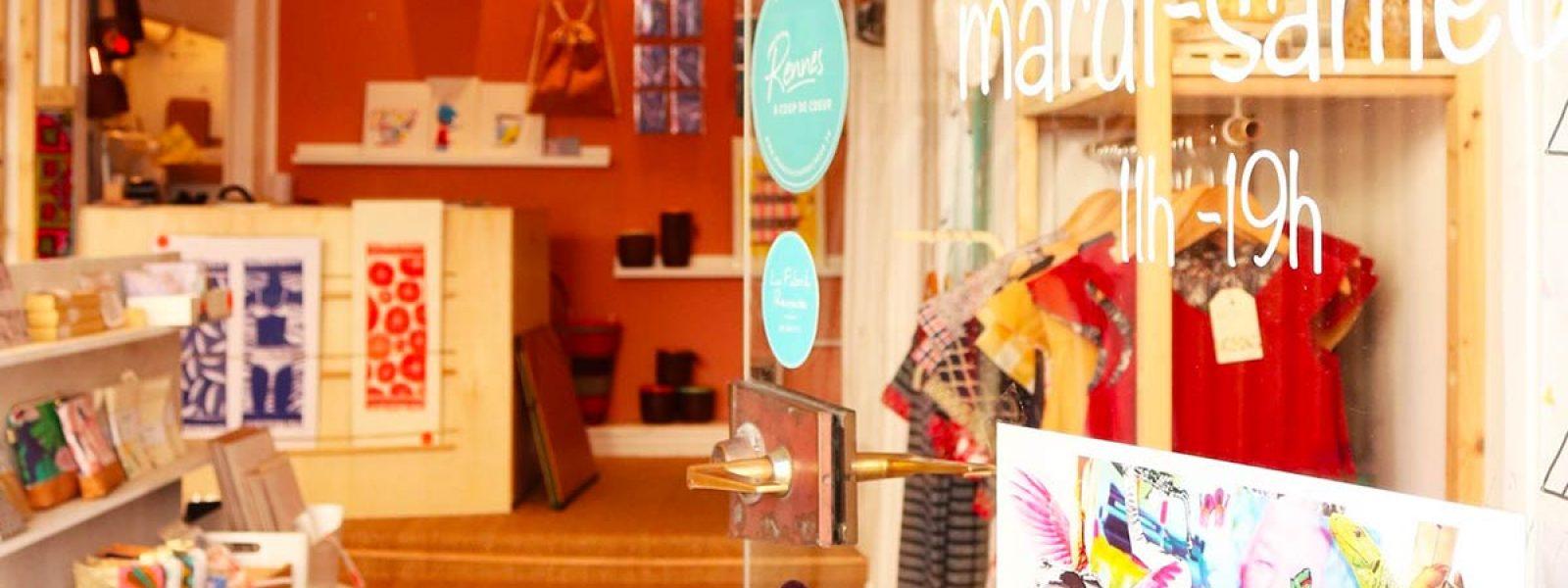 Boutique de créateurs Tipi à Rennes